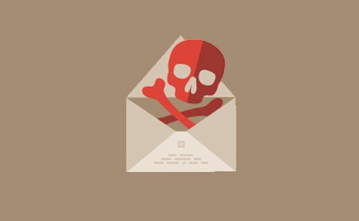 عدم توانایی ارسال ایمیل