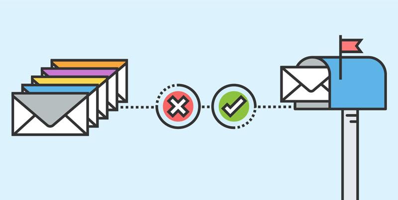 جلوگیری از ورود اسپم به ایمیل
