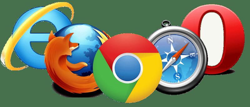 تست وبسایت در مرورگرهای مختلف
