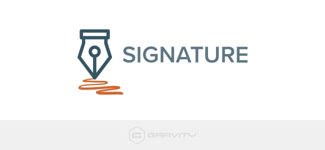 افزودنی Signature